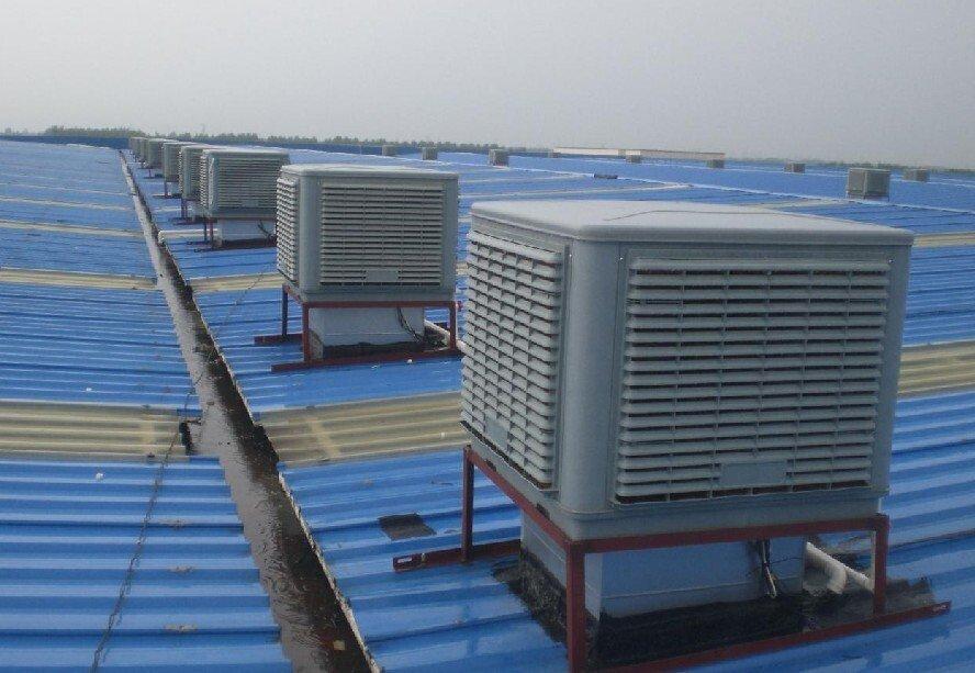 冷风机安装在房顶上2